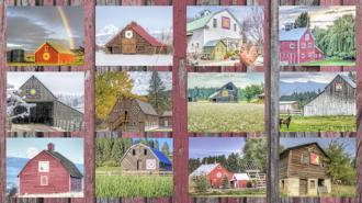 Quilt Barns Photo Panel