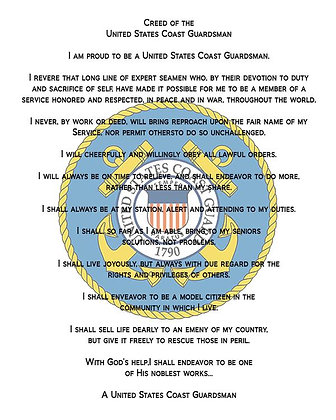 U.S. Coast Guard Creed