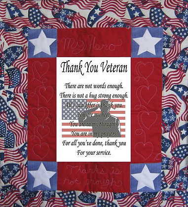 Veteran Thank You For Your Service Banner Kit