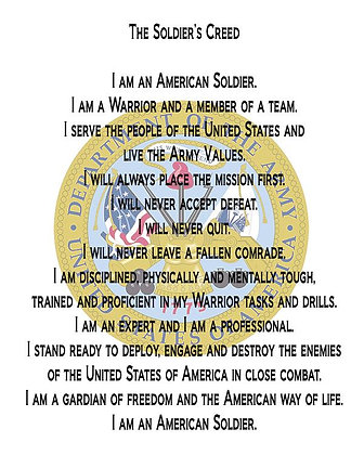 U.S. Army Creed
