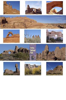 Arches National Park Large Photo Kit