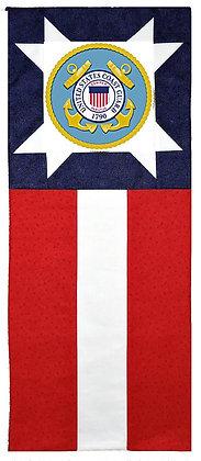 Coast Guard Star Flag Banner Kit