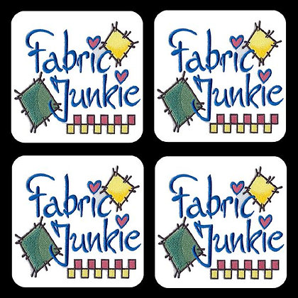 Fabric Junkie Coaster Set of 4
