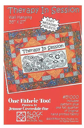 Block Party Therapy In Session Panel and Pattern