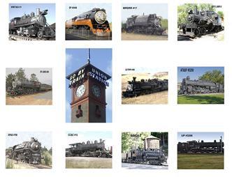 "Steam Engines 8"" x 10"" Kit #2"