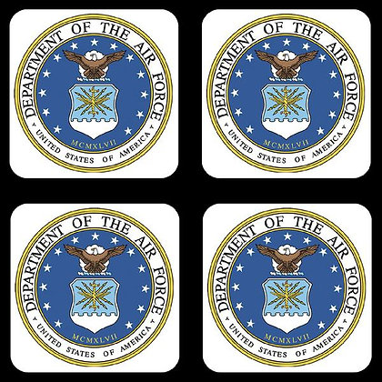 US Air Force Coaster Set of 4