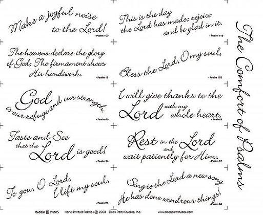 Block Party Psalms 1 Panel