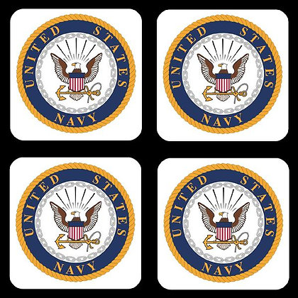 US Navy Coaster Set of 4