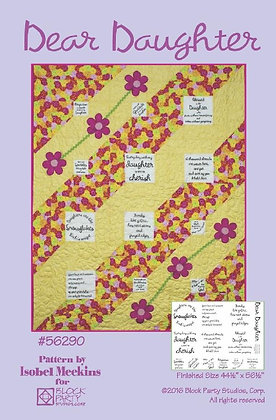 Block Party Dear Daughter Panel and Pattern
