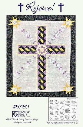 Block Party Rejoice Panel and Pattern
