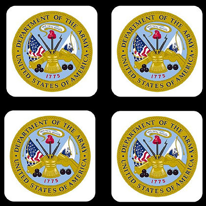 US Army Coaster Set of 4
