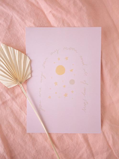 Sun, Moon & Stars - juliste