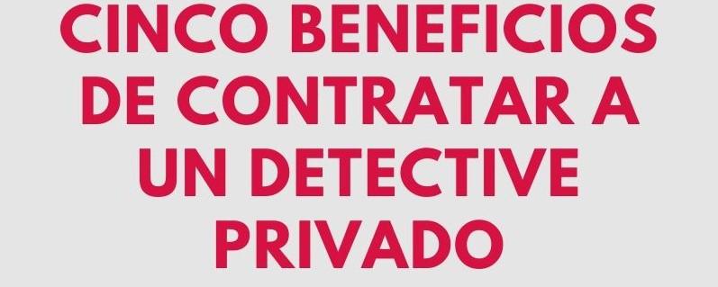Contratar un detective privado