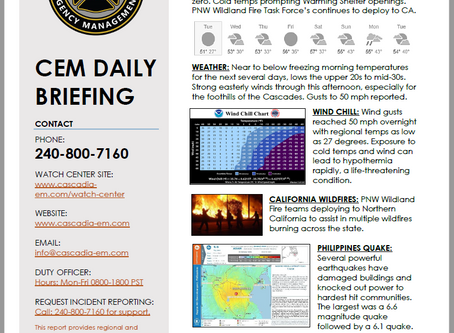 CEM Daily Briefing | 29OCT19
