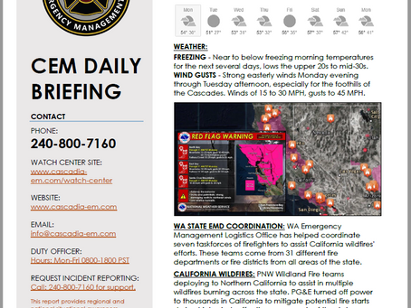 CEM Daily Briefing | 28OCT19