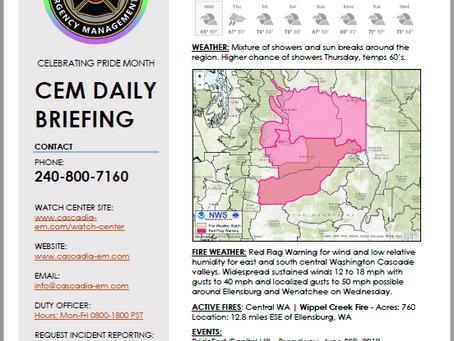 CEM Daily Briefing | 19JUN19