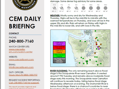 CEM Daily Briefing | 23OCT19