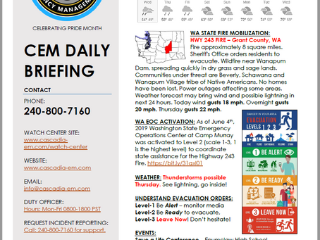CEM Daily Briefing | 05JUN19