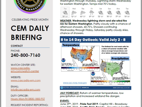 CEM Daily Briefing | 25JUN19
