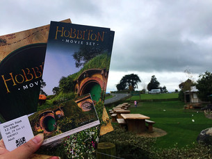 Wandering Day 3 - Waitomo & Hobbiton