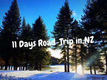 Design itinerary for 11 Days road-trip in New Zealand