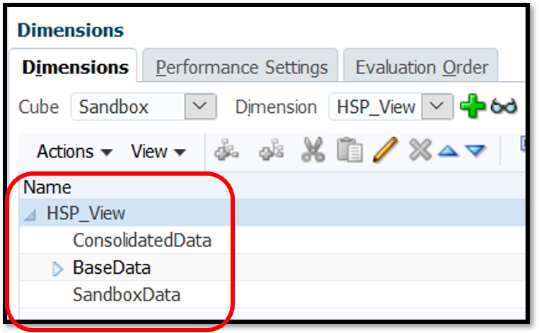 HSP_View dimension with sanboxes enabled.