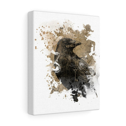 Raven Collage Canvas Gallery Wrap