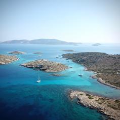 Griechenland Kitecruise