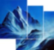 Gipfelfirn Blue Deborah Kressebuch