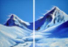 Spiegelbild Blue Peaks Deborah Kressebuc