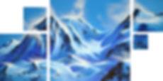 Wolkenpoesie 2017 Blue Peaks Deborah Kre