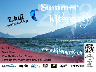 Kiteparty Comersee