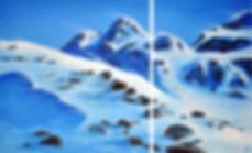 Winterweg Blue Peaks Deborah Kressebuch
