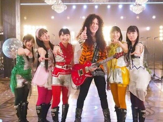 Marty Friedman in Japanese TV's
