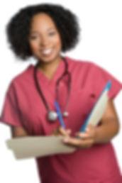 bigstock-African-American-Nurse-12038633