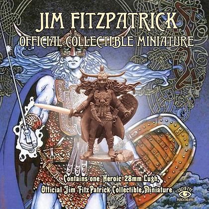 Jim FitzPatrick Official Collectible Miniature - Lugh (SMRP $15)