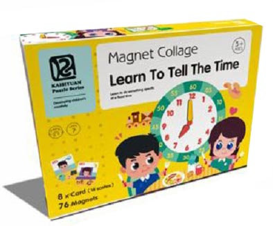 Magnet Collage Learn to Tell the Time (SMRP $30)