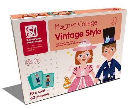 Magnet Collage Vintage Style (SMRP $30)