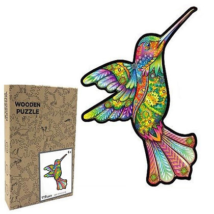 Humming Bird Wood Puzzle (MSRP $35)
