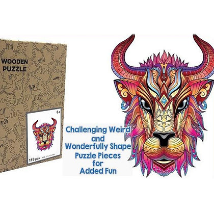 Cow Wood Puzzle (MSRP $35)