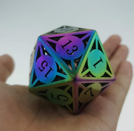 Jumbo Hollow 24 sided RPG Dice (MSRP $220)