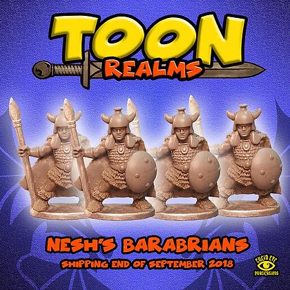 Nesh's Barbarians (MSRP $7.5)