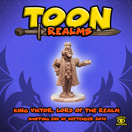 King Victor, Lord of The Realm (MSRP $4.5)