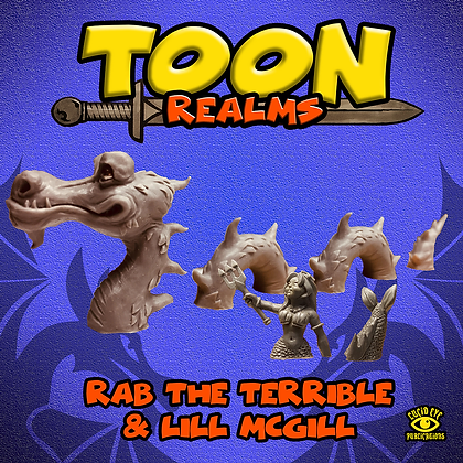 Rab The Terrible & Lill McGill (MSRP $25)