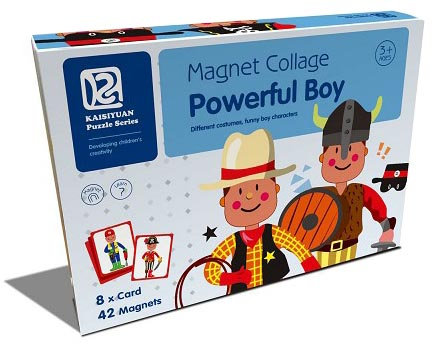 Magnet Collage Powerful Boy (SMRP $30)