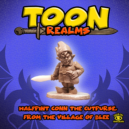 Halfpint Conn The Cutpurse, From The Village of Blee (MSRP $4.5)