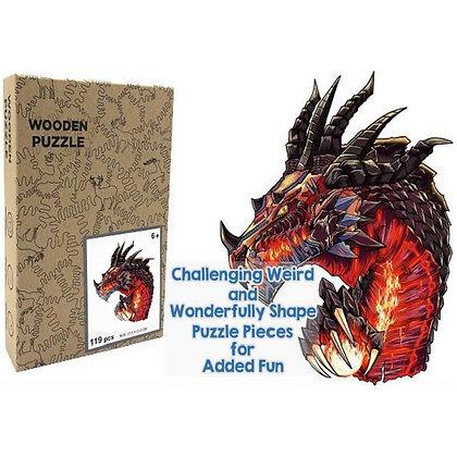 Elder Black Dragon Wood Puzzle (MSRP $35)