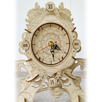 Table Clock 3D Wood Puzzle (MSRP $39)