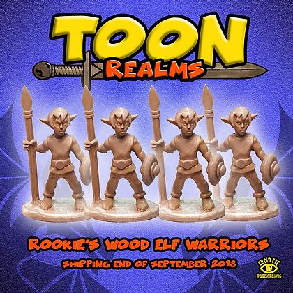 Rookie's Wood Elf Warriors (MSRP $7.5)