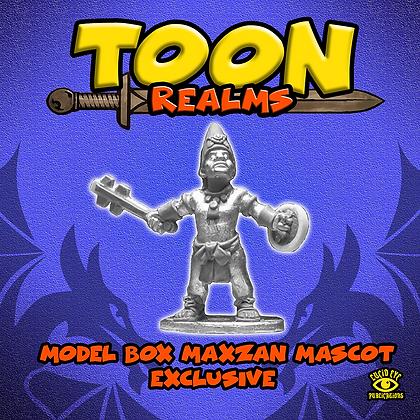 Model Box Maxzan Mascot (MSRP $4.5)